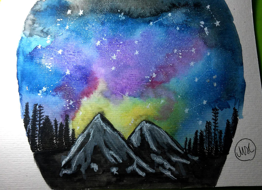 Galaxy Sky by hidingmymess