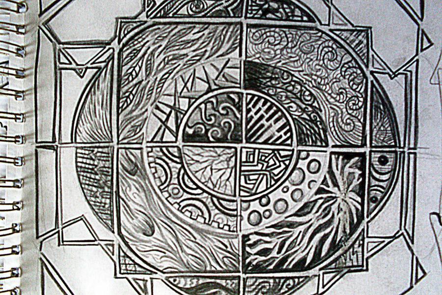 Mga hugis at elemento by pilippanis