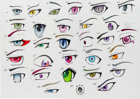 30 eyes by TheenyThoos