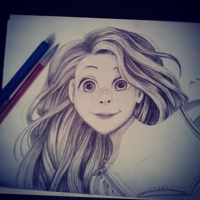 Rapunzel by JaceyM