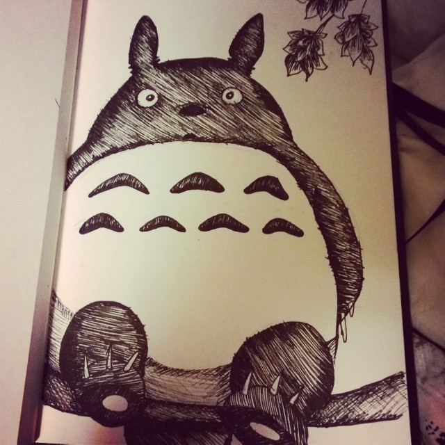 Totoro by JaceyM