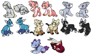 [Gift] Clump of Cuties