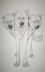Sketch Me Again: Cerberus