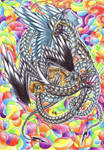 Rainbow Chaos by FlorenceAndTheDragon