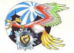 Johto's Golden Phoenix
