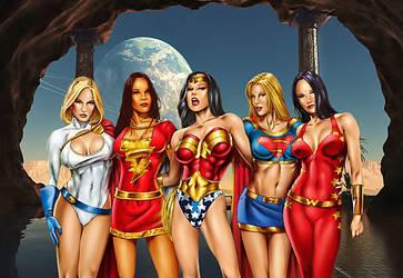 DC Girls by RonaldinhoTEN