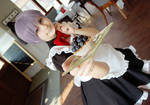 Free cosplay // Maid Nitori