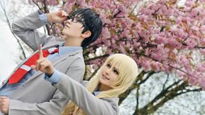 Shigatsu wa kimi no uso cosplay