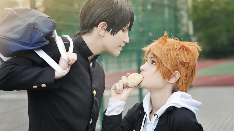 Haikyuu cosplay // Kageyama and Hinata by DAIxSORA on ...