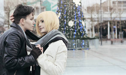 Yuri!!! on ICE cosplay: Otayuri