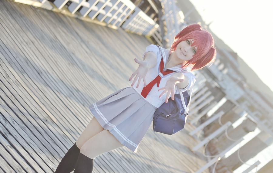 Love Live Sunshine cosplay // Ruby Kurosawa by DAIxSORA