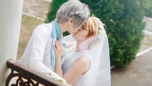 Ensemble Stars cosplay - IzuAra wedding