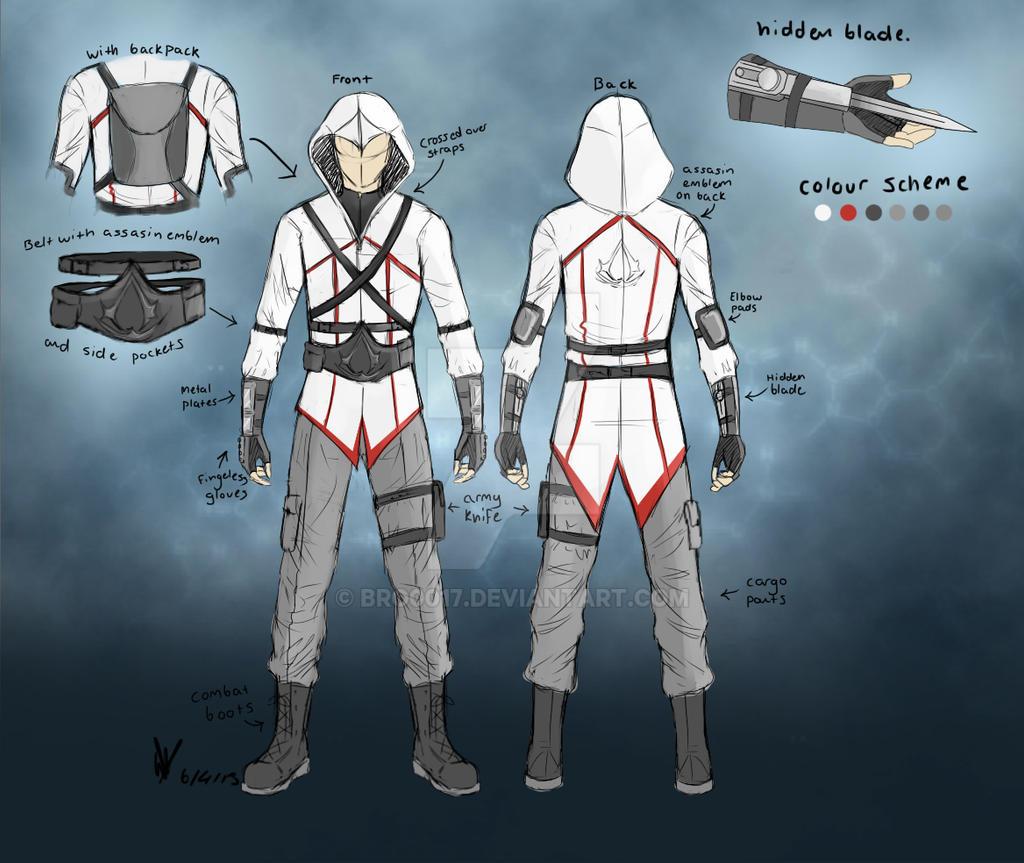 Assassin's Creed Modern Design by bro0017 on DeviantArt
