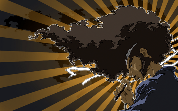 samurai wallpapers. anova afro samurai wallpaper