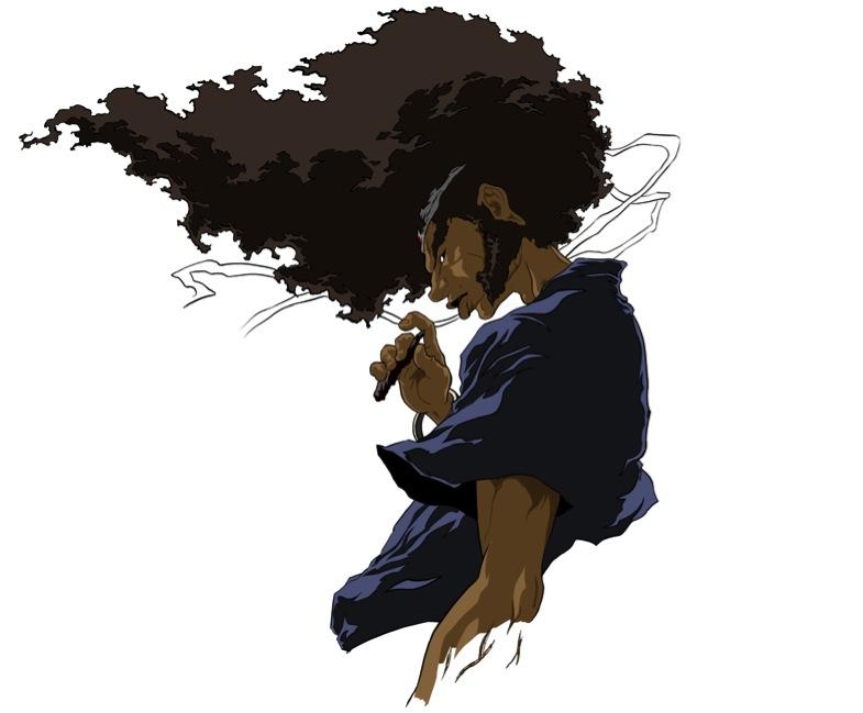 Afro samurai by beanhead2007
