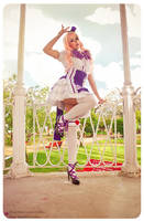 Sheryl . The Purple TwinStar by LeonorGracias