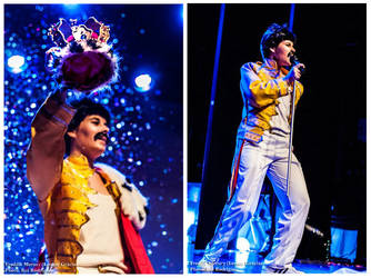 Freddie Mercury ~ Crown~ Queen by LeonorGracias