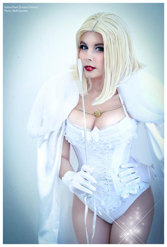 Emma Frost . X-Men by LeonorGracias
