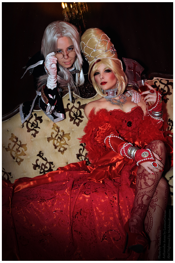 Astharoshe and Abel - Venetian Lovers by LeonorGracias