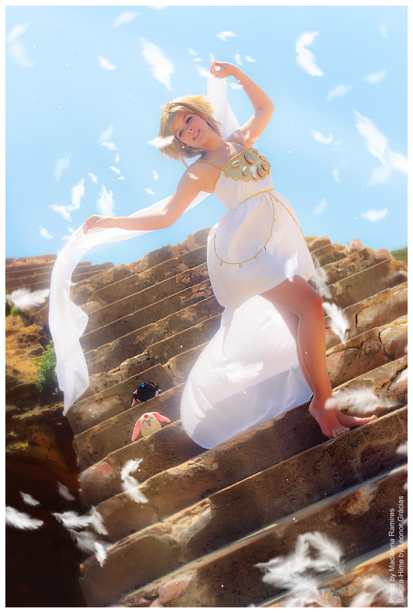 Sakura Hime . The World of Heaven by LeonorGracias