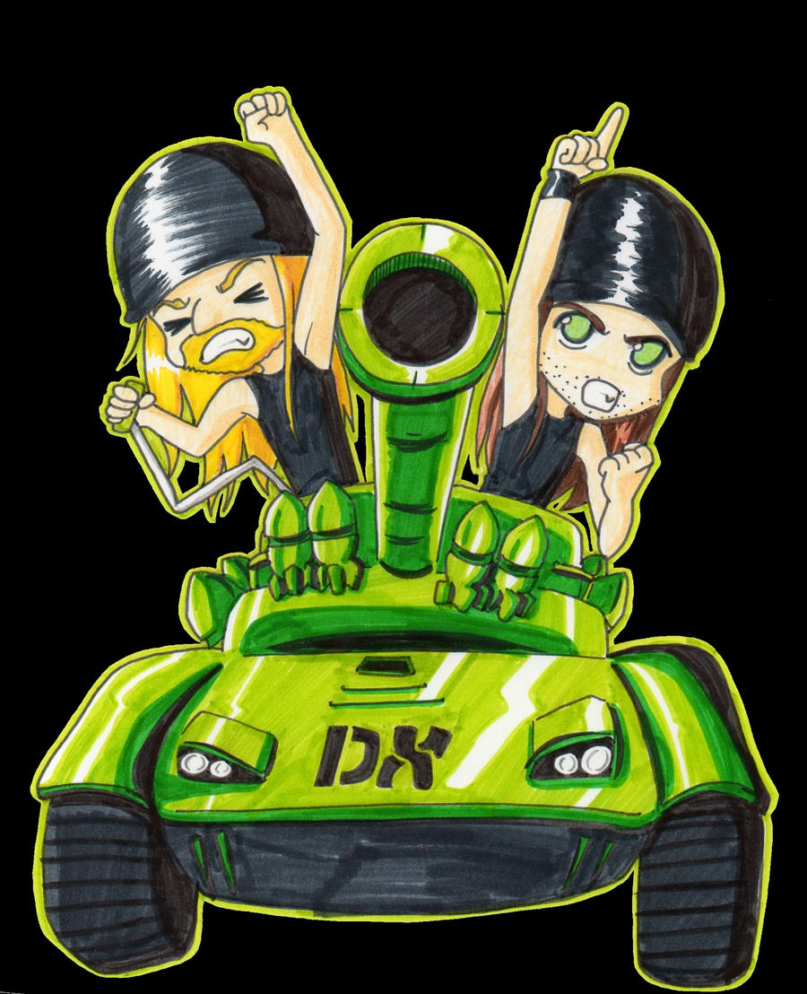 dx tank by princessblackrabbit on deviantart