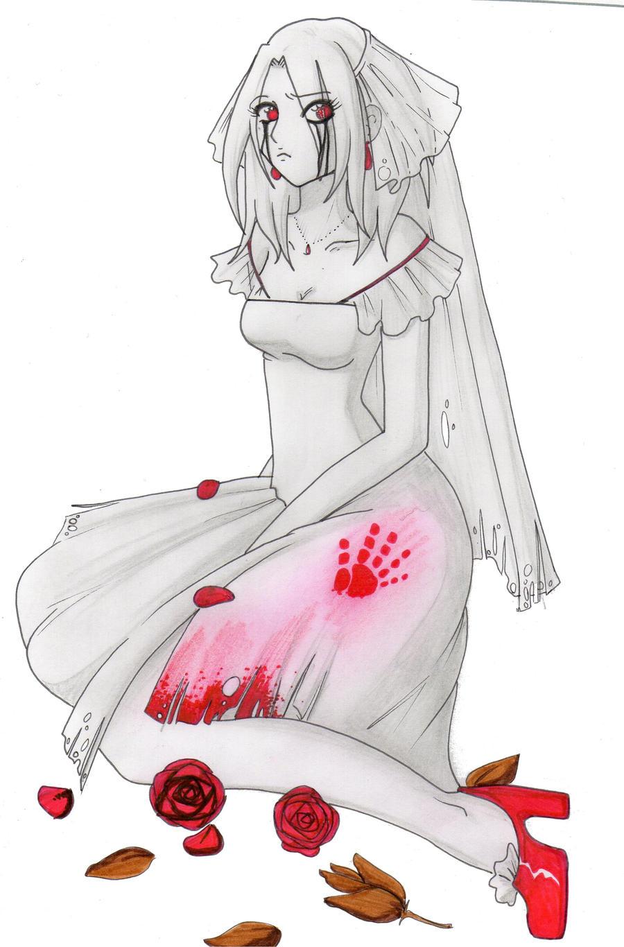 big wedding witchy by PrincessBlackRabbit