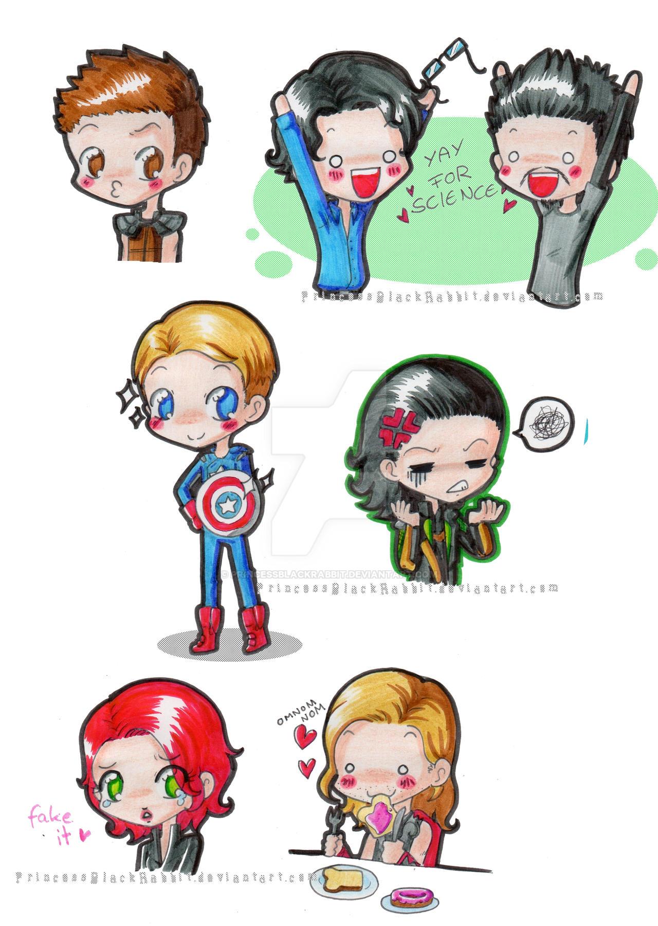 avengers fan art cute wwwimgkidcom the image kid has it