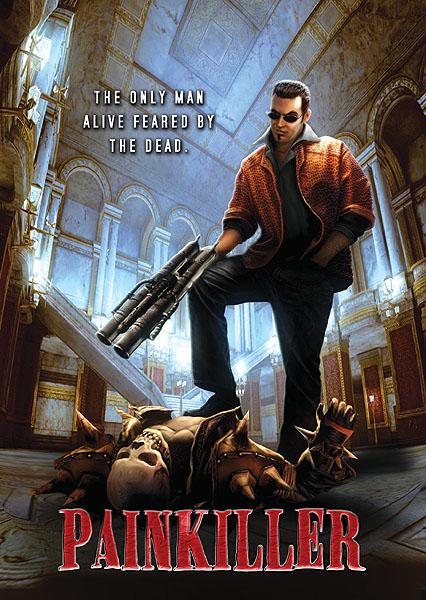 Rare Painkiller Poster (2003) by RUSKULL