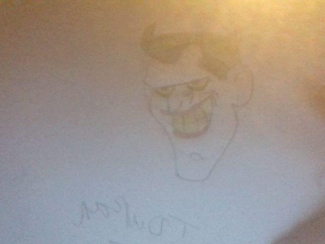 Joker drawing by blueshot123