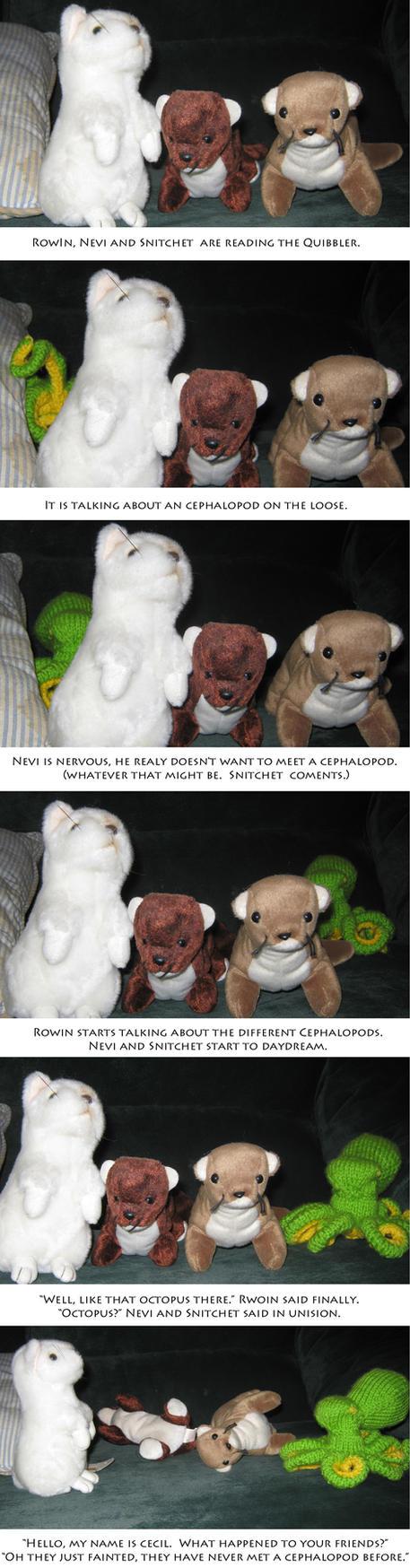 Gryffindor Ferret Quibbler Surprise by fuzziekit