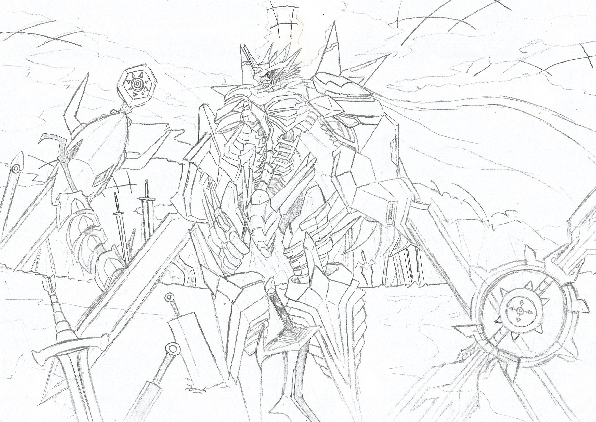 Jesmon By Dudemon On Deviantart A holy knight digimon that acquired the title of a royal knights, the highest rank of network security. jesmon by dudemon on deviantart