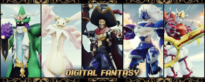 Digimon MMD: Digital Fantasy