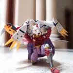 Digimon Marsmon vs Omegamon: MUSCLE BUSTER by Dudemon
