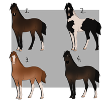 Horse Adopts 4 - OPEN by 5starburst