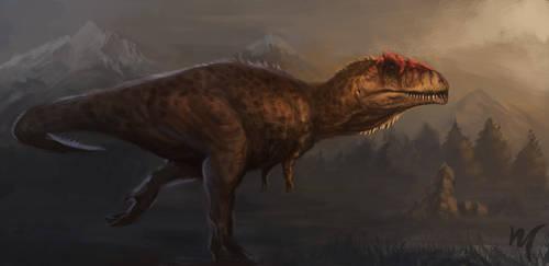 Giganotosaurus by Moonmelo