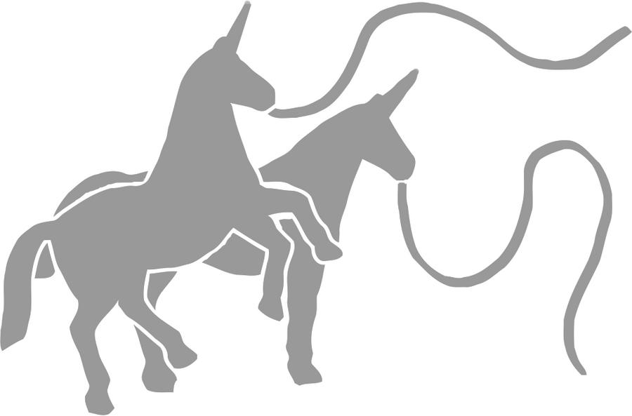 Charlie the unicorn stencil by jfg on deviantart