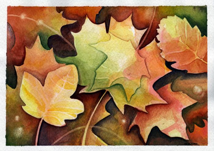 Leaves by CinnamonDevil