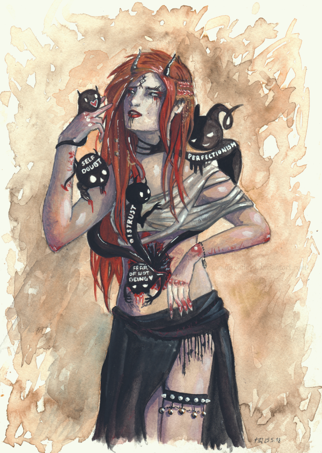 Inner Demons by CinnamonDevil
