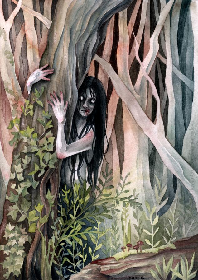 The Hermit by CinnamonDevil