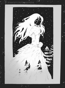 Inktober | Day 11: Snow