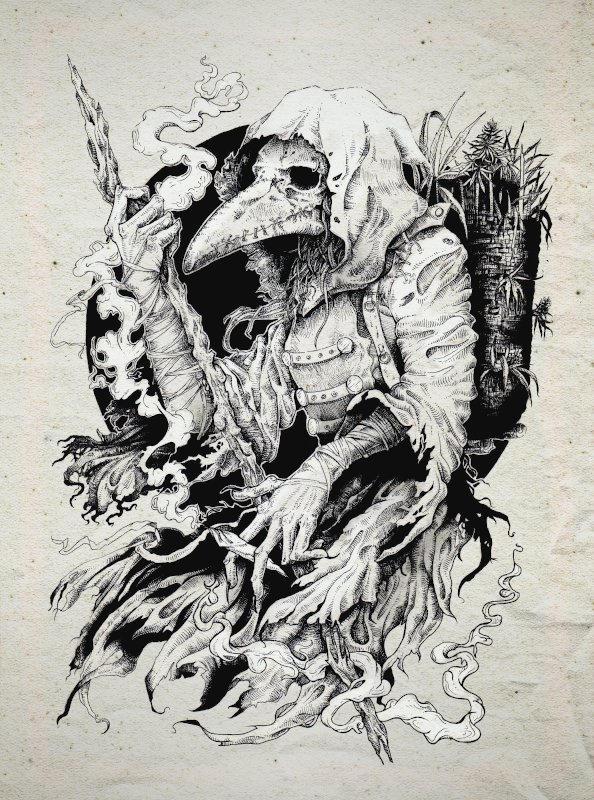 IX The Hermit.