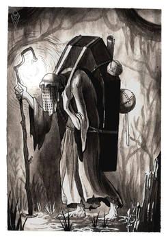 Inky Occultober   Day 3   Bulky