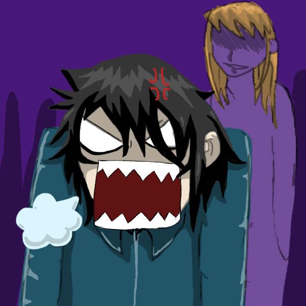 Anime Guy Angry Angry Man by ja...