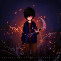 Reaper Hiro by lydia-san