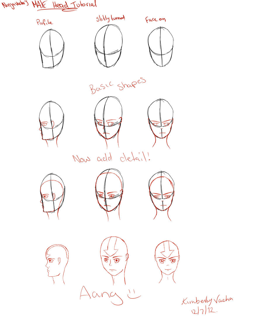 Pictures Of How To Draw Manga Faces Male Rock Cafe