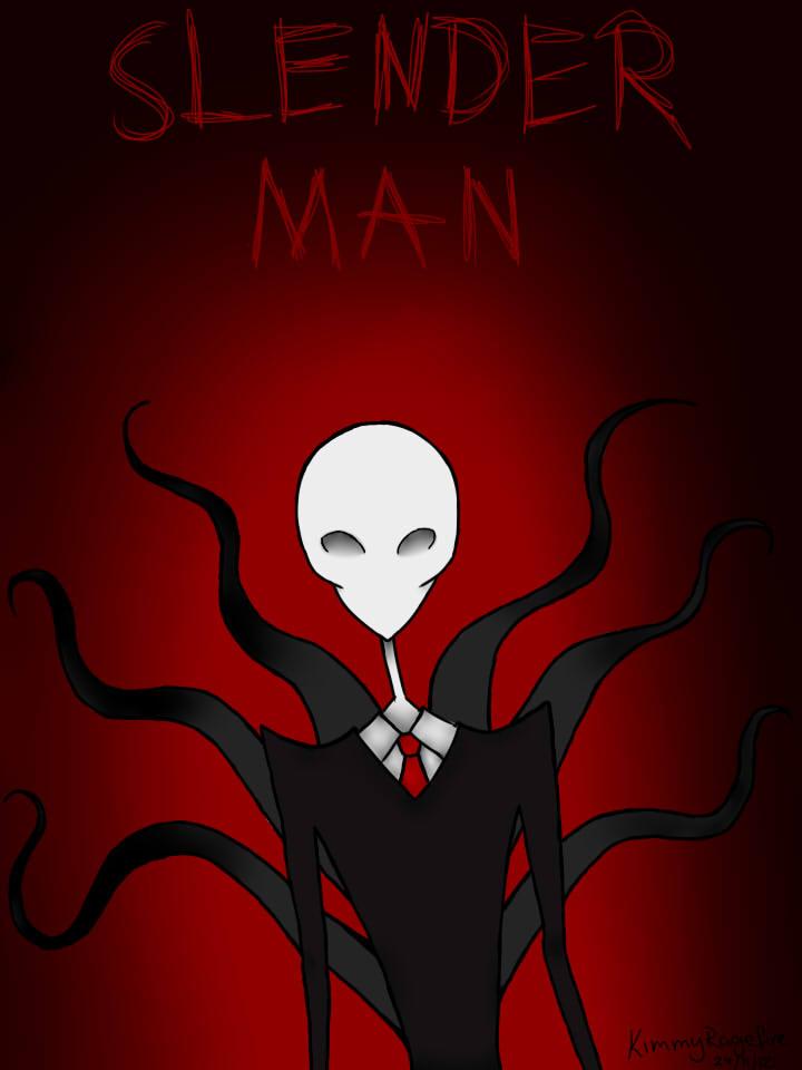 Slender man by kimmyragefire