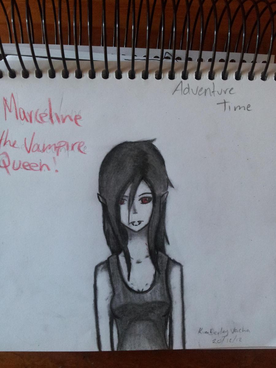 Charcol Marceline by kimmyragefire