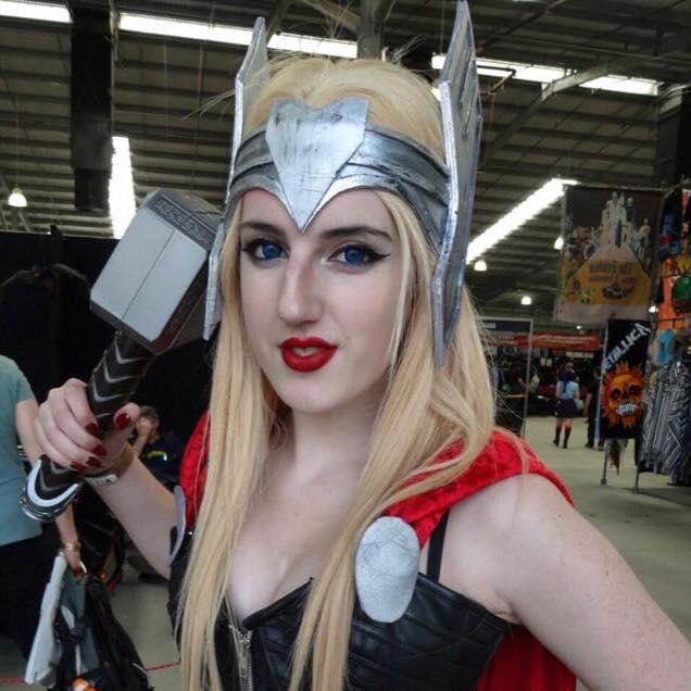 Lady Thor by kimmyragefire