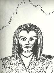 Pointillism Woman