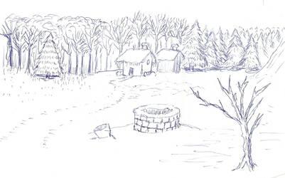 Snow scene by DMDoug